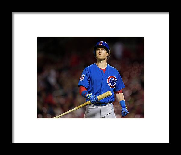 Ninth Inning Framed Print featuring the photograph Chicago Cubs V St Louis Cardinals by David Welker