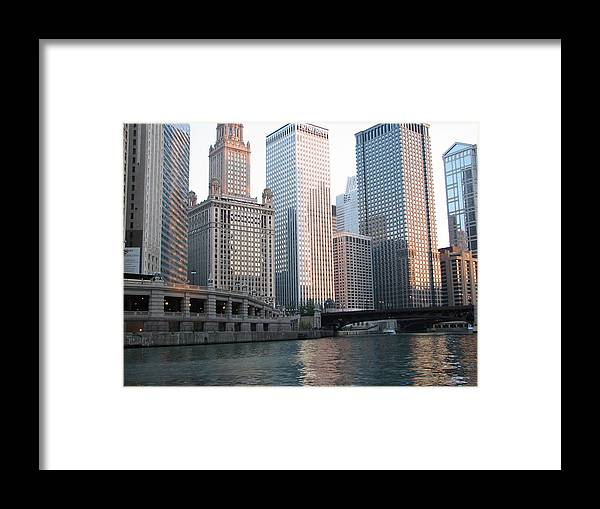 Chicago Framed Print featuring the photograph Chicago Highrise by Tammie Miller