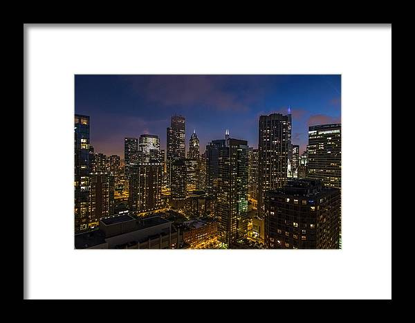 Outdoors Framed Print featuring the photograph Chicago, Illinois, United States Of by Izzet Keribar