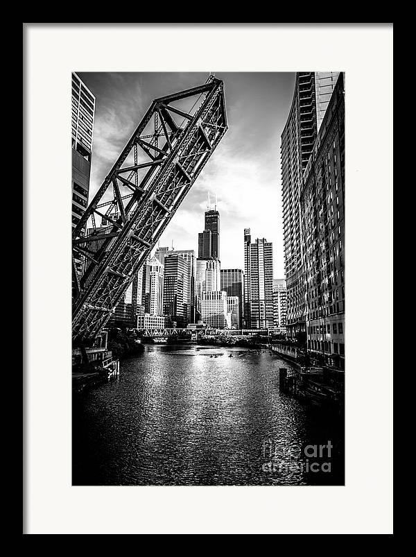 Chicago Black And White Framed Art Prints Fine Art America