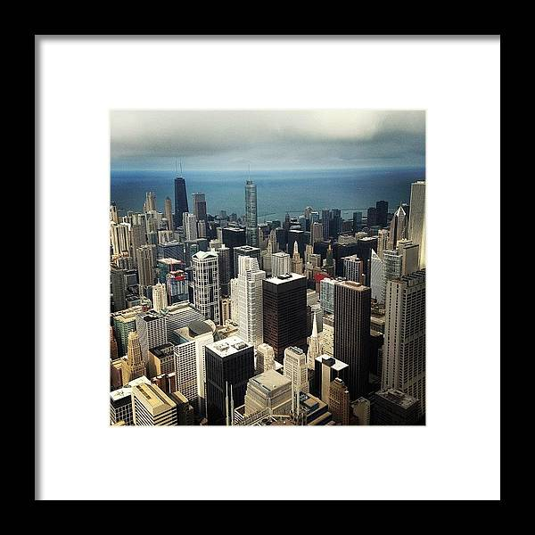 City Framed Print featuring the photograph Chicago, Second To None by Mike Maher