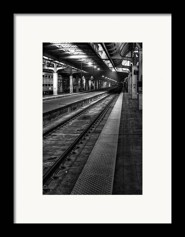 Union Framed Print featuring the photograph Chicago Union Station by Scott Norris