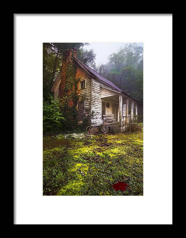 In Framed Print featuring the photograph Childhood Dreams by Debra and Dave Vanderlaan