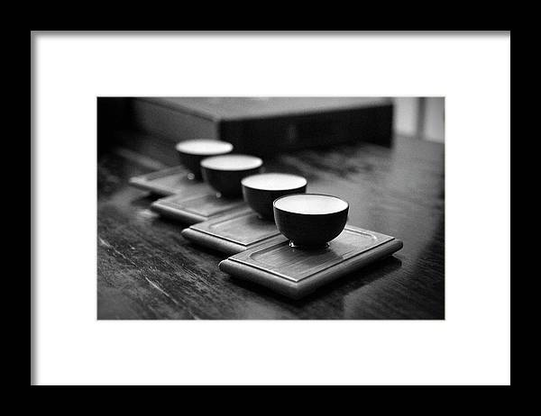 Chinese Culture Framed Print featuring the photograph Chinese Tea Ceremony by Toolx