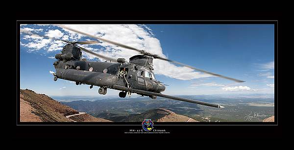 Chinook by Larry McManus