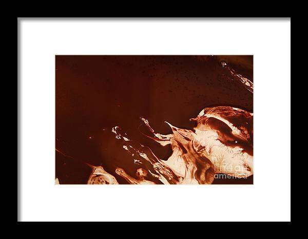 Cream Framed Print featuring the photograph Chocolate by Lisa Payton