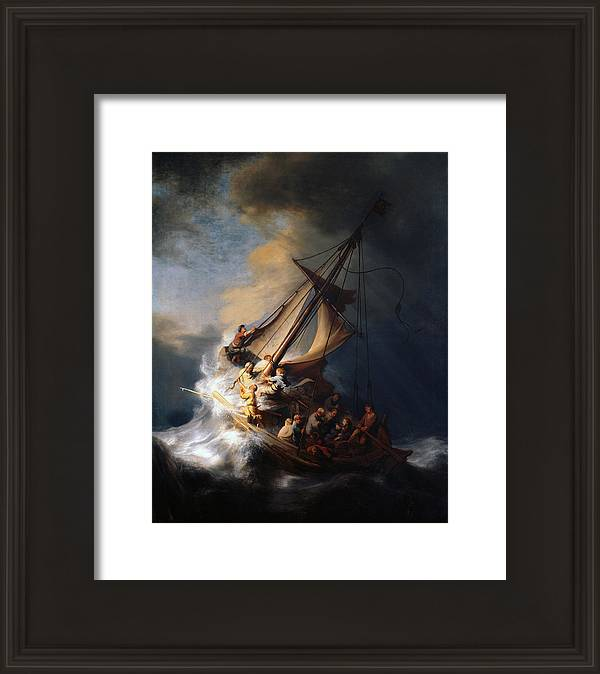 Christ And The Storm by Rembrandt