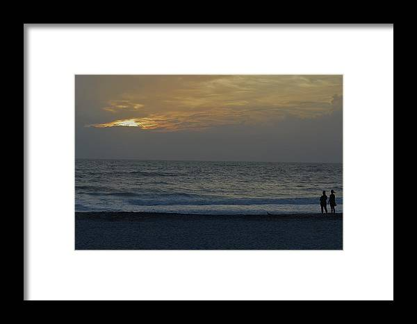 Florida Framed Print featuring the photograph Christams Eve On The Gulf by Mark Mitchell