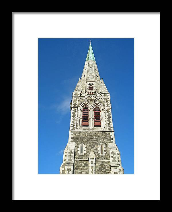 Christchurch Cathedral Framed Print featuring the photograph Christchurch Cathedral by Michaela Perryman