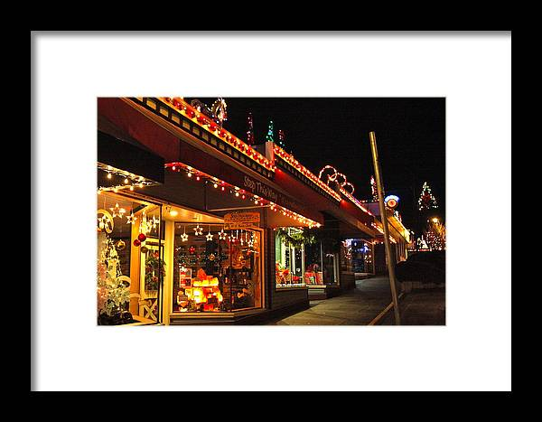 Ladysmith Framed Print featuring the photograph Christmas In Ladysmith by Ron Ritchey