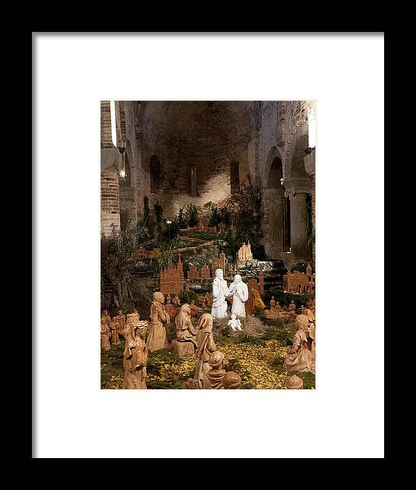 Santo Stefano Framed Print featuring the photograph Christmas In Santo Stefano by Rae Tucker