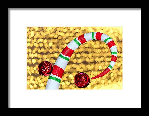 Christmas Framed Print featuring the photograph Christmas Lights by Jijo George
