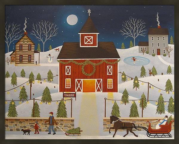 Christmas Tree Farm by Mary Charles