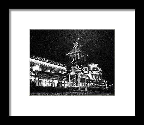 Cape Cod Framed Print featuring the photograph Christmas Tree Shop by David DeCenzo
