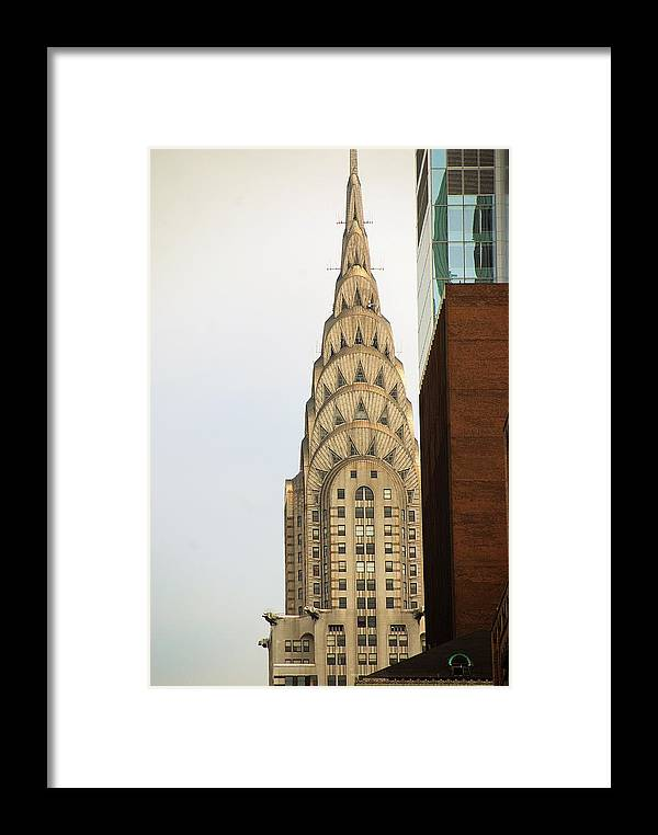 Buildings Framed Print featuring the photograph Chrysler Building by John Schneider
