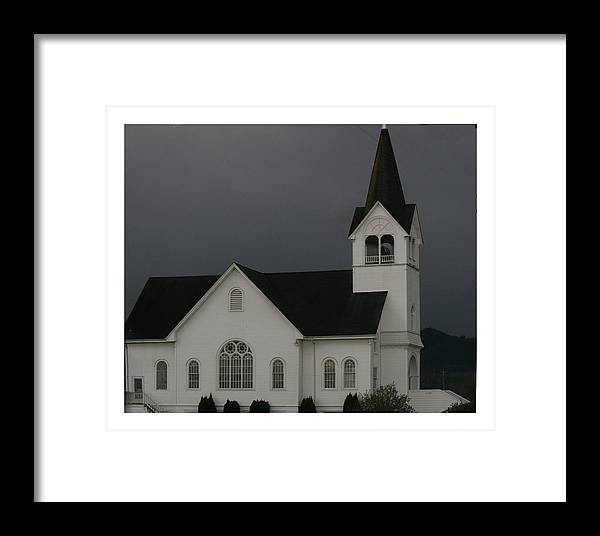 Church Framed Print featuring the photograph Church 2 by Marv Russell