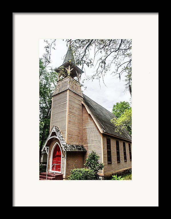 Church Framed Print featuring the photograph Church Of Atonement by Steven Taylor