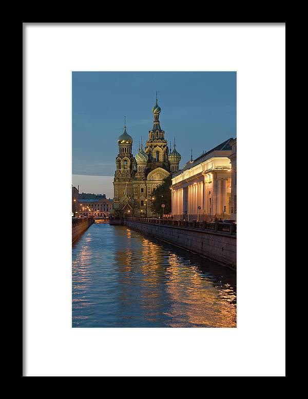 Built Structure Framed Print featuring the photograph Church Of The Saviour On Spilled Blood by Izzet Keribar
