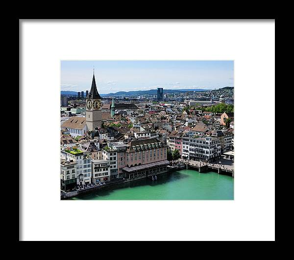 Tranquility Framed Print featuring the photograph Church Sankt Peter by Werner Büchel