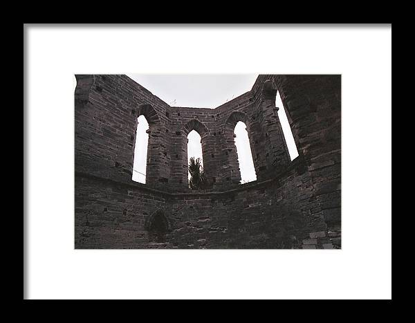 Architecture Framed Print featuring the photograph Church Windows by Luis Fournier