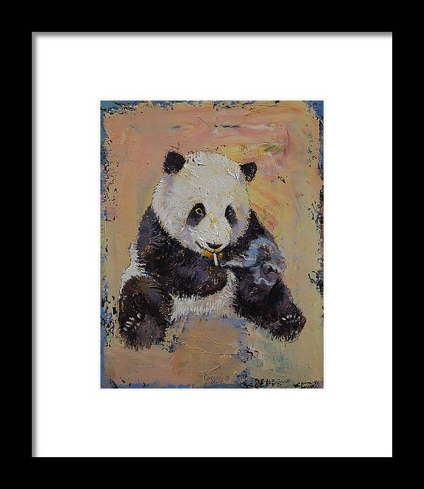 Cigarette Framed Print featuring the painting Cigarette Break by Michael Creese