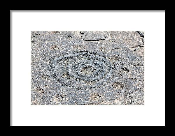 Big Island Framed Print featuring the photograph Circles And Holes by Jim Pruitt