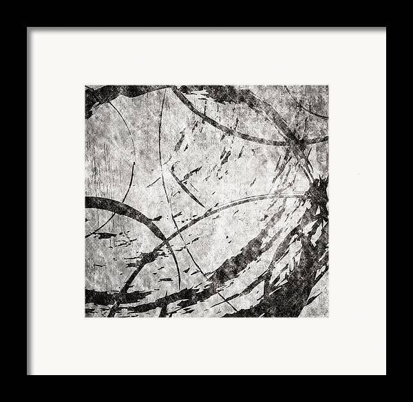Brett Framed Print featuring the digital art Circles by Brett Pfister
