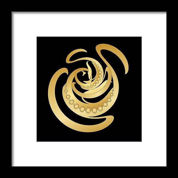 Mandala Framed Print featuring the digital art Circularity No. 685 by Alan Bennington