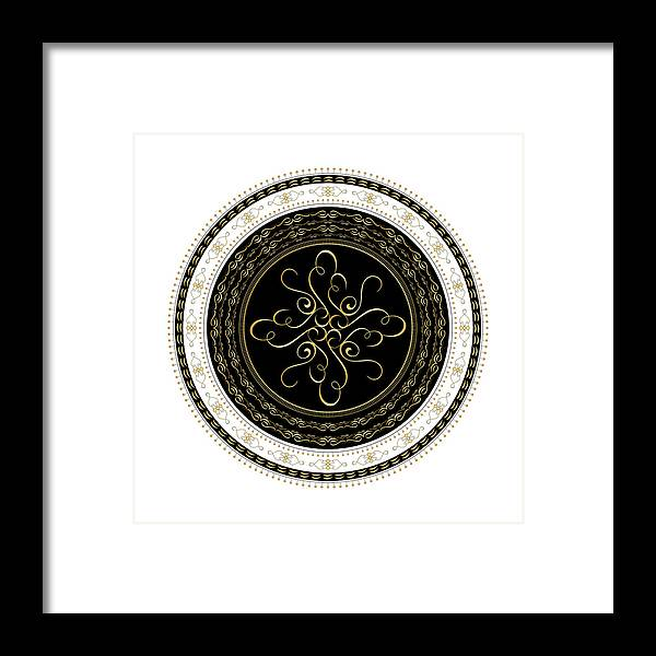Mandala Framed Print featuring the digital art Circularity No. 727 by Alan Bennington