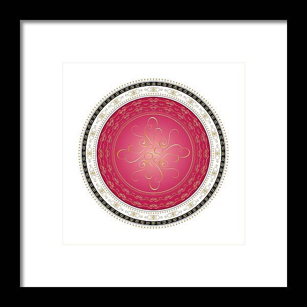 Mandala Framed Print featuring the digital art Circularity No. 730 by Alan Bennington