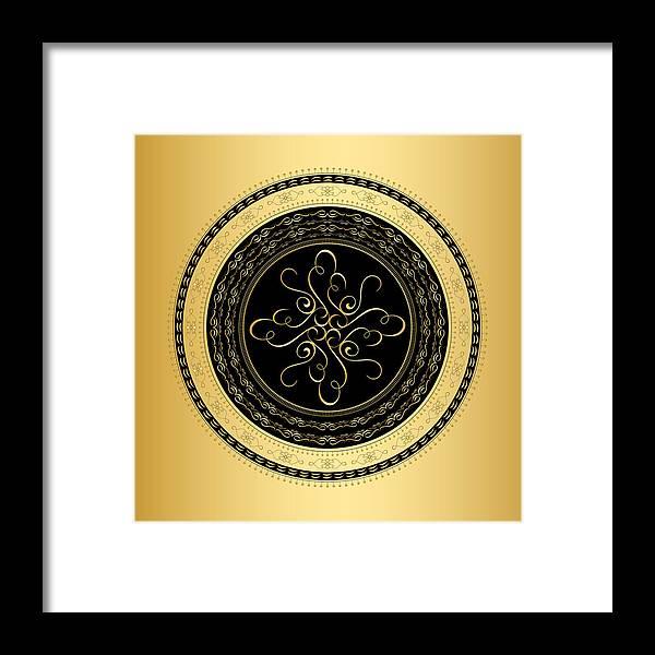 Mandala Framed Print featuring the digital art Circularity No. 734 by Alan Bennington