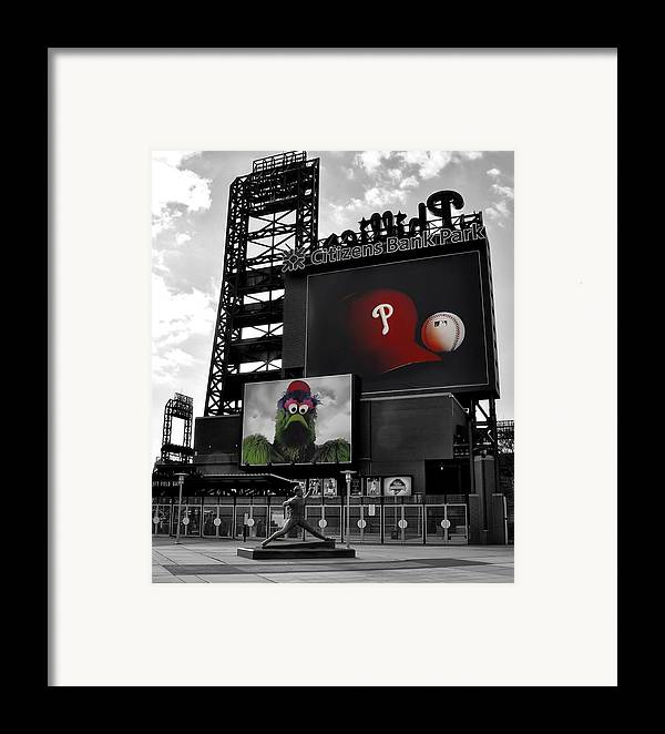 Citizens Bank Park Philadelphia Framed Print featuring the photograph Citizens Bank Park Philadelphia by Bill Cannon