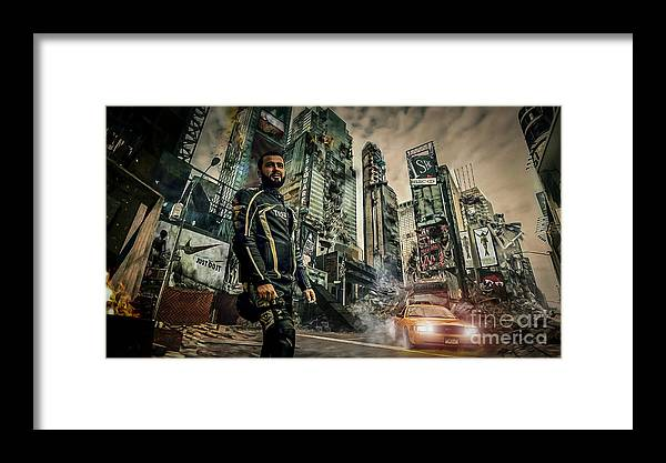 Fantasy Framed Print featuring the photograph City by Eugenio Moya