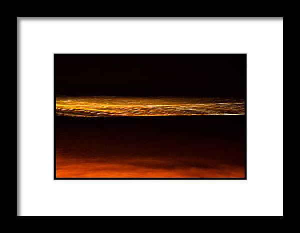 San Francisco Framed Print featuring the photograph City Lights Abstract by Jason Wolters