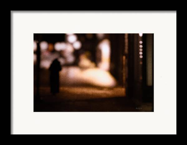 Impressions Framed Print featuring the photograph City Nights by Bob Orsillo