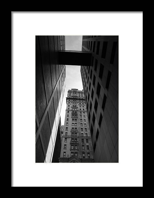 City Framed Print featuring the photograph City Of Labirynth by Marta Grabska-Press