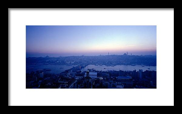 Istanbul Framed Print featuring the photograph Romance Of Istanbul by Shaun Higson