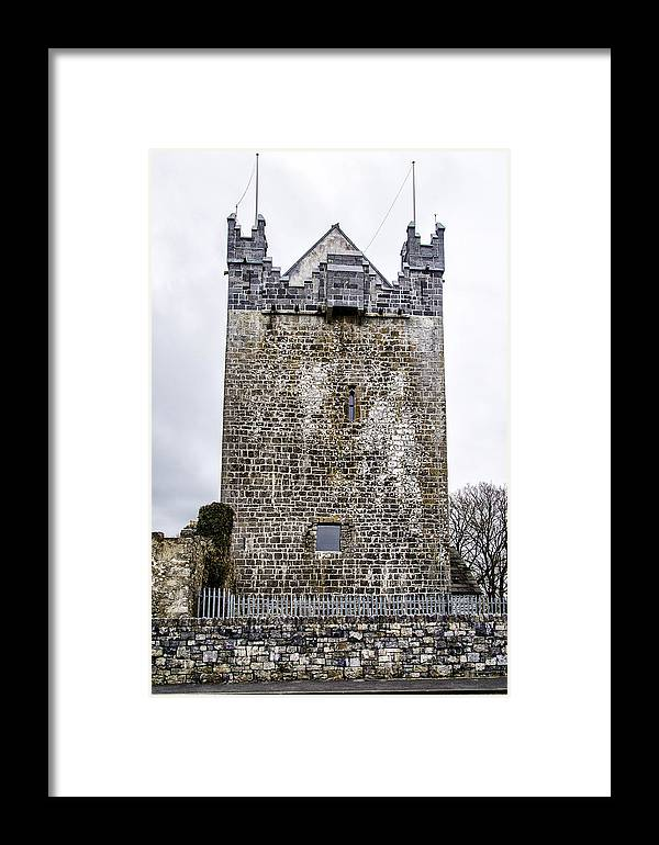 Claregalway Framed Print featuring the photograph Claregalway Castle - Ireland by Bill Cannon