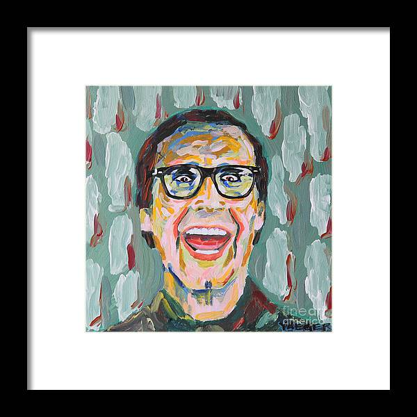 Clark W Framed Print featuring the painting Clark W Griswold by Robert Yaeger