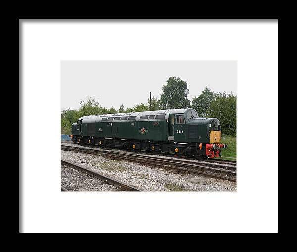 Class 40 Framed Print featuring the photograph Class 40 Diesel by Ted Denyer