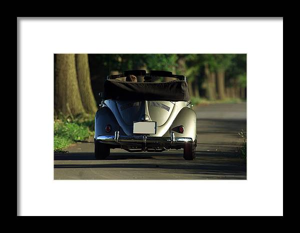 Automobil Framed Print featuring the photograph Classic Beetle 5 by Stefan Bau