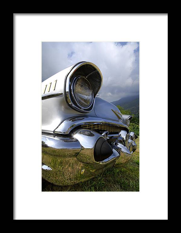 57 Framed Print featuring the photograph Classic Chevrolet by Debra and Dave Vanderlaan