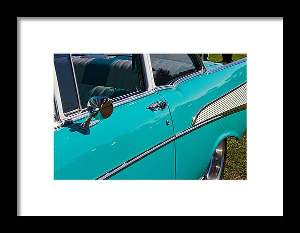 Classic Framed Print featuring the photograph Classic Chevy by Bernard Barcos