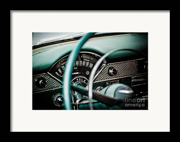 Car Framed Print featuring the photograph Classic Interior by Jt PhotoDesign