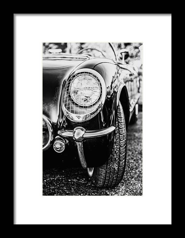 Classy Car Framed Print featuring the photograph Classy Convertible by Karol Livote