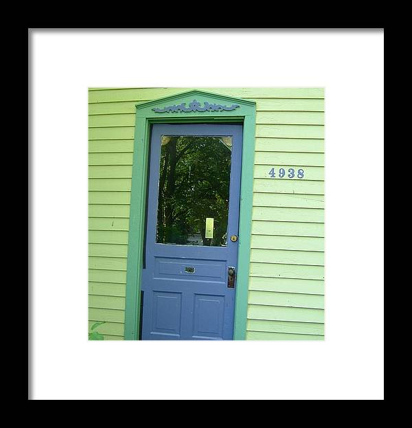 Door Framed Print featuring the photograph Classy Farmhouse Door by Susan Wyman