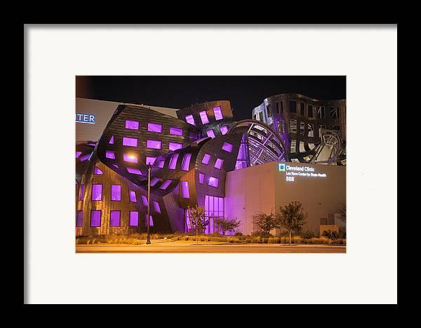 Las Vegas Framed Print featuring the photograph Cleveland Clinic Las Vegas #2 by Daniel Furon