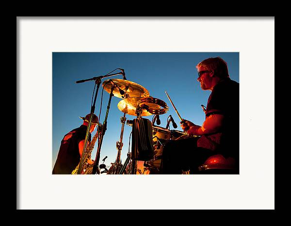 The Kingpins Framed Print featuring the photograph Cliff Miller And Dale Keeney - The Kingpins by David Patterson