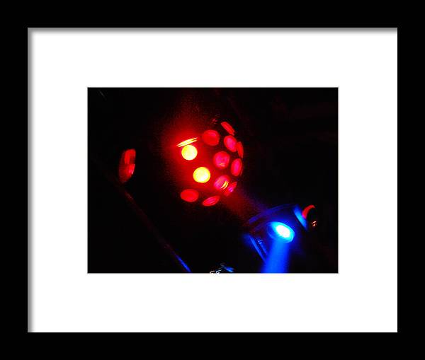 Space Framed Print featuring the photograph Close Contact With A Red Unidentified Flying Object by James Welch