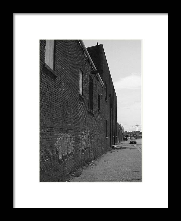Framed Print featuring the photograph Closed Time by Matthew Barton